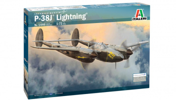 "P-38J ""Lightning"" (1:72) Model Kit letadlo 1446 - Italeri"