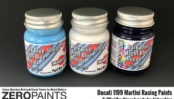Ducati 1199 Martini Racing - Zero Paints