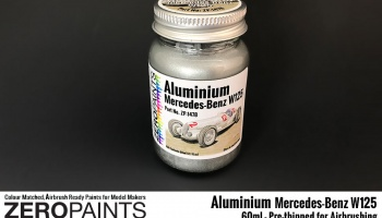 Aluminium Mercedes-Benz W125 - Zero Paints