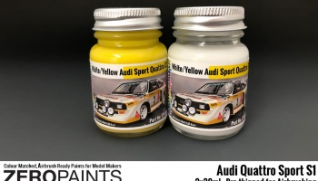 Audi Quattro Sport S1 Set 2x30ml - Zero Paints