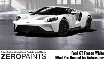 Ford GT Frozen White Paint 60ml - Zero Paints