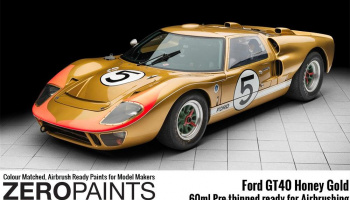 Ford GT40 Honey Gold Paint 60ml - Zero Paints