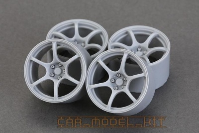 18´ ADVAN RG-III Wheels - Hobby Design