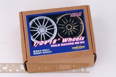 "18"" Wheels (C) Volk Racing RE30 - Hobby Design"