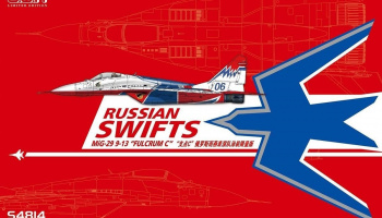 Russian Swifts MiG-29 9-13 Fulcrum-C limited edition 1:48 - G.W.H.