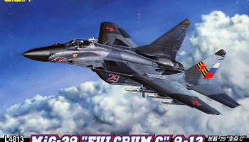 "MIG-29  9-13 ""Fulcrum C"" 1/48 - GREAT WALL HOBBY"