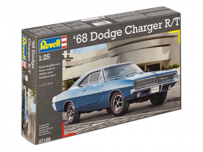 1968 Dodge Charger R/T (1:25) Plastic Model Kit 07188 - Revell