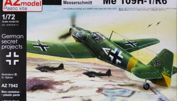 1/72 Bf 109H-1/R6