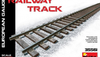 1/35 Railway Track (European Gauge)