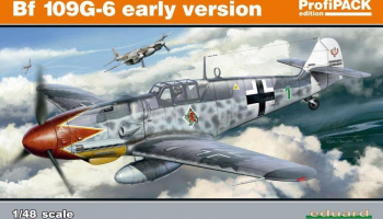 Bf 109G-6 early version 1/48 – EDUARD