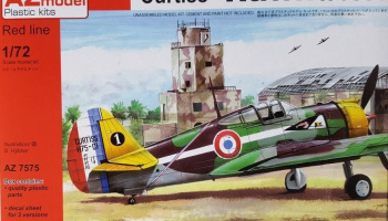 "1/72 Curtiss Hawk H-75 ""Over Africa"""