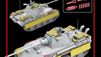 Panther Ausf. F UPGRADE SOLUTION 1/35 - Rye Field Model