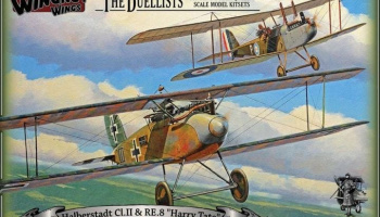 1/32 Halberstadt Cl.II & RE.8 Harry Tate Duellists