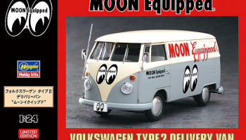 VW Delivery Van Moon Equipped - Hasegawa