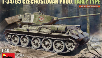 T-34-85 Czechoslovak Prod. Early Type 1/35 - MiniArt