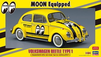 Volkswagen Beetle Type 1 Moon Equipped - Hasegawa