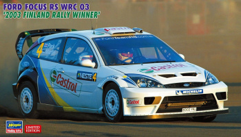Ford Focus RS WRC 03 (2003 Rally Finland Winner) (1/24) - Hasegawa 20380