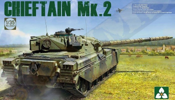 British Main Battle Tank Chieftain Mk. 2 1/35 - Takom