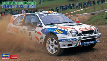 Toyota Corolla WRC 1998 Rally of Great Britain 1/24 - Hasegawa