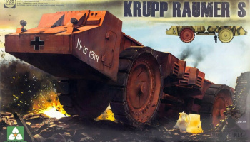 Krupp Raumer S WWII German Super Heavy Mine Clearing Vehicle 1:35 - Takom