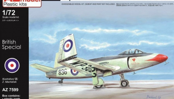 1/72 Supermarine Attacker FB.2 (reed.)