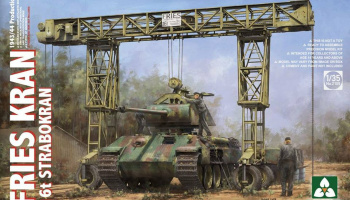 Fries Kran 16t Strabokran 1943/1944 Production 1/35 - Takom