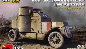 Austin Armoured Car 1918 Pattern British Service. Western Front  Interior Kit 1/35 – MiniArt
