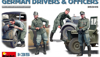 1/35 German Drivers & Officers