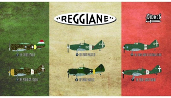 1/72 Reggiane fighters