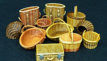 1/35 Wicker baskets-small
