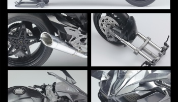 Ninja H2R Detail-up Set - Top Studio