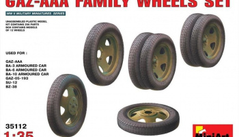 1/35 GAZ – AAA Family Wheels set