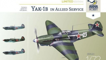 1/72 Yak-1b Allied Fighter Limited Edition