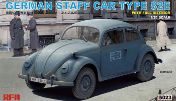 German Staff Car Type 82E 1/35 – RFM