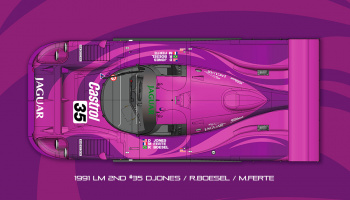 Jaguar XJR-12 Fulldetail Kit - Model Factory Hiro