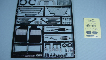 Detail-up set for Daihatsu Copen Aoshima 1:24 - KA-Models