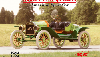 Model T 1913 Speedster,American SportCar in 1:24  1/24 - ICM