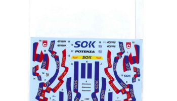 "McLaren F1-GTR ""SOK"" #30 JGTC 2000 (Long Tail) for FUJIMI125794 1/24  - Tabu Design"