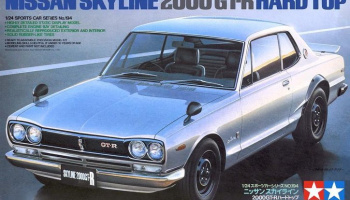 Nissan Skyline 2000GT-R Hard Top - Tamiya