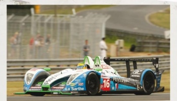 PESCAROLO-JUDD LMP1 24H DU MANS 2009 (DECALS ONLY) - PIT WALL