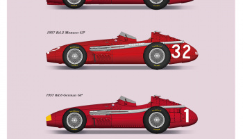 Maserati 250F Fulldetail Kit 1:20 - Studio27