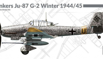 1/72 Junkers Ju-87 G-2 Winter 1944/1945