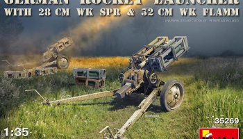 1/35 German Rocket Launcher with 28cm WK Spr & 32cm WK Flamm
