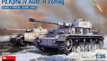 1/35 Pz.Kpfw.IV Ausf. H Vomag. Early Prod. (June 1943) - Miniart