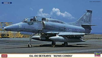 OA-4M SKYHAWK HMS COMBO (Two kits in the box) (1:72) - Hasegawa
