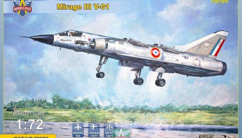 1/72 Mirage III V-01French VTOL