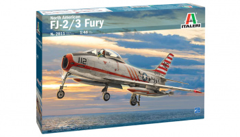 North American FJ-2/3 Fury 1:48 - Italeri