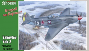 1/32 Yakovlev Yak-3 Onward to Berlin!