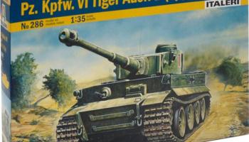 TIGER I AUSF. E/H1 (1:35) Model Kit 0286 - Italeri