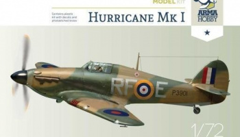 1/72 Hurricane Mk I Model Kit